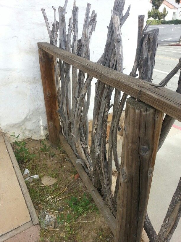 Images about branch fence on pinterest