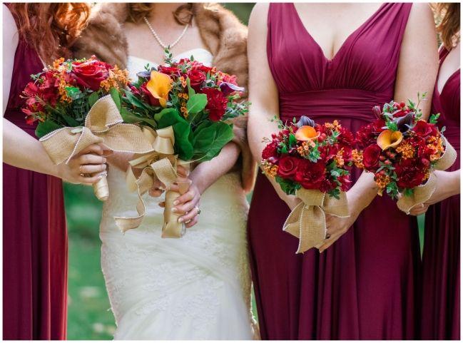 Autumn Wedding Flowers   Melissa Avey Photography