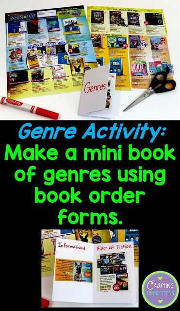 Genre Sorting Activity for the upper elementary classroom- plus two more free…