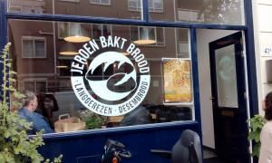 Jeroen Bakt Brood - bakery with workshops on how to bake sourdoughbread.