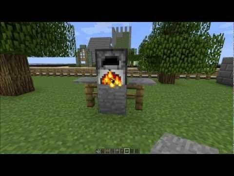 How to make a grill in minecraft minecraft furniture - Minecraft inneneinrichtung ...