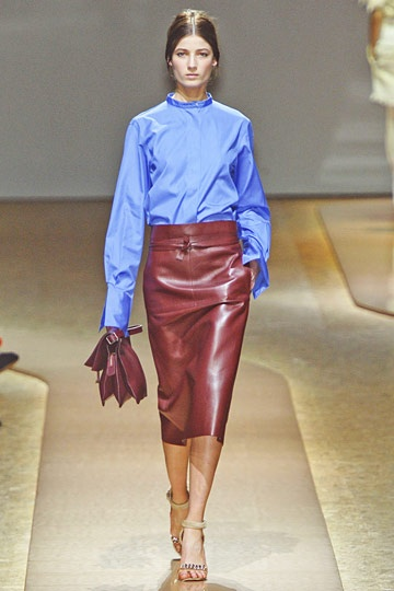Celine Luxe Pencil Skirt- Deep Colors