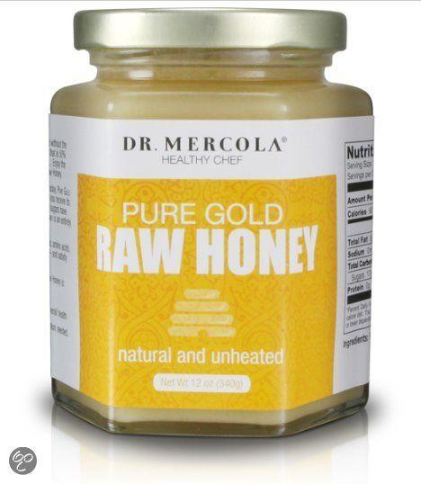 Dr. Mercola Voedingssupplementen Pure Gold Rauwe Honing (340 g) - Dr. Mercola