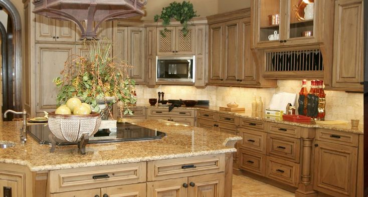Traditional Kitchen Design. San Antonio : Delta Granite