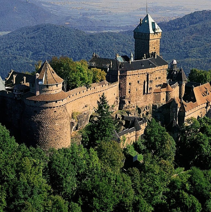 Haut Koenigsbourg Castle - Alsace, France Thank you, Freddo for taking me to this fabulous place.