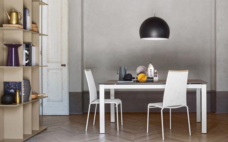 Calligaris: Tavolo allungabile modello Lord. #arredamento #salerno #casa #homeidea
