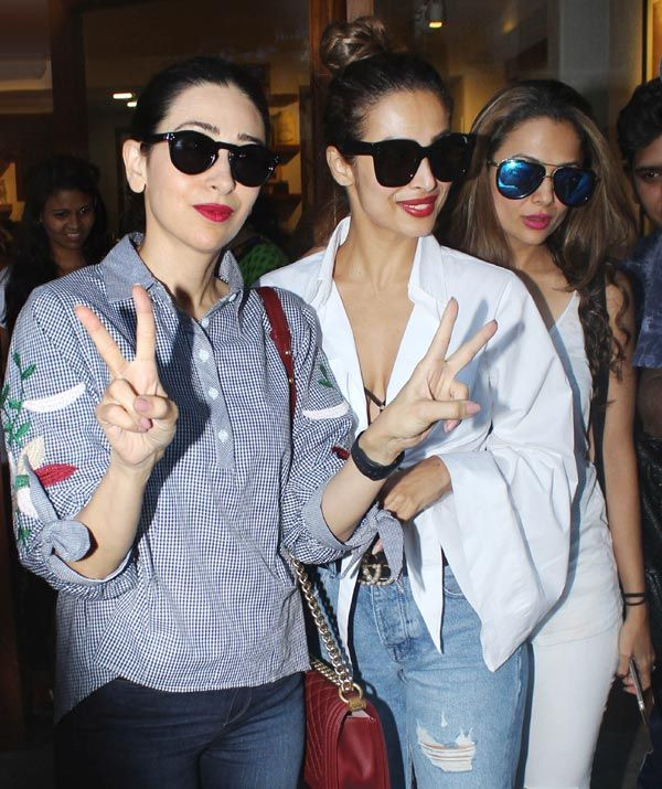 Malaika Arora steps out with her stylish girl gang Karisma Kapoor and Amruta Arora for a pre-birthday celebration – view HQ pics #FansnStars