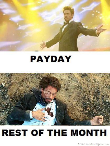 payday tony stark meme
