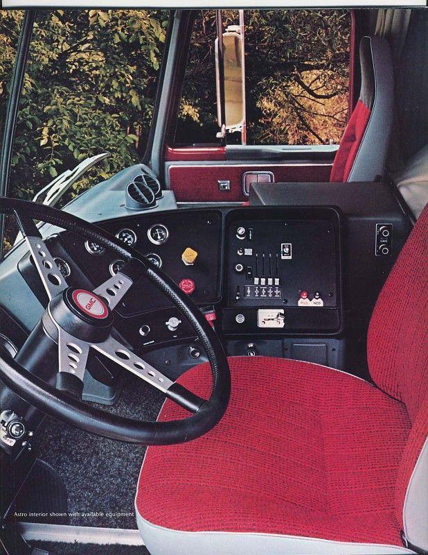 Gmc Astro 84 11 Truck Interior Big Trucks Gmc