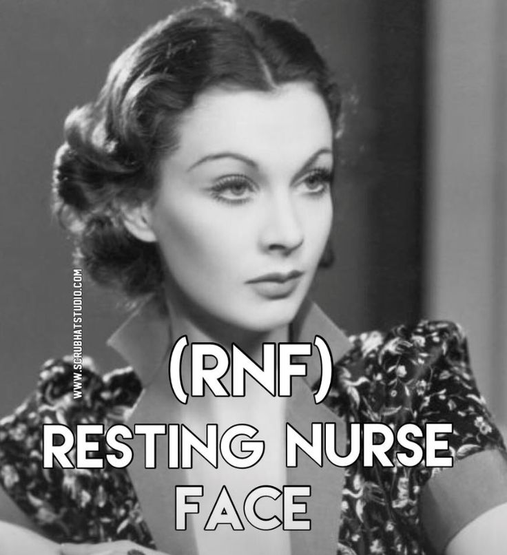 Do you suffer from Resting Nurse Face?