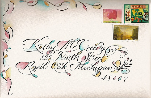 brush, watercolor, calligraphy...Love it but wouldn't bother really painting it, would totally mine digitally!