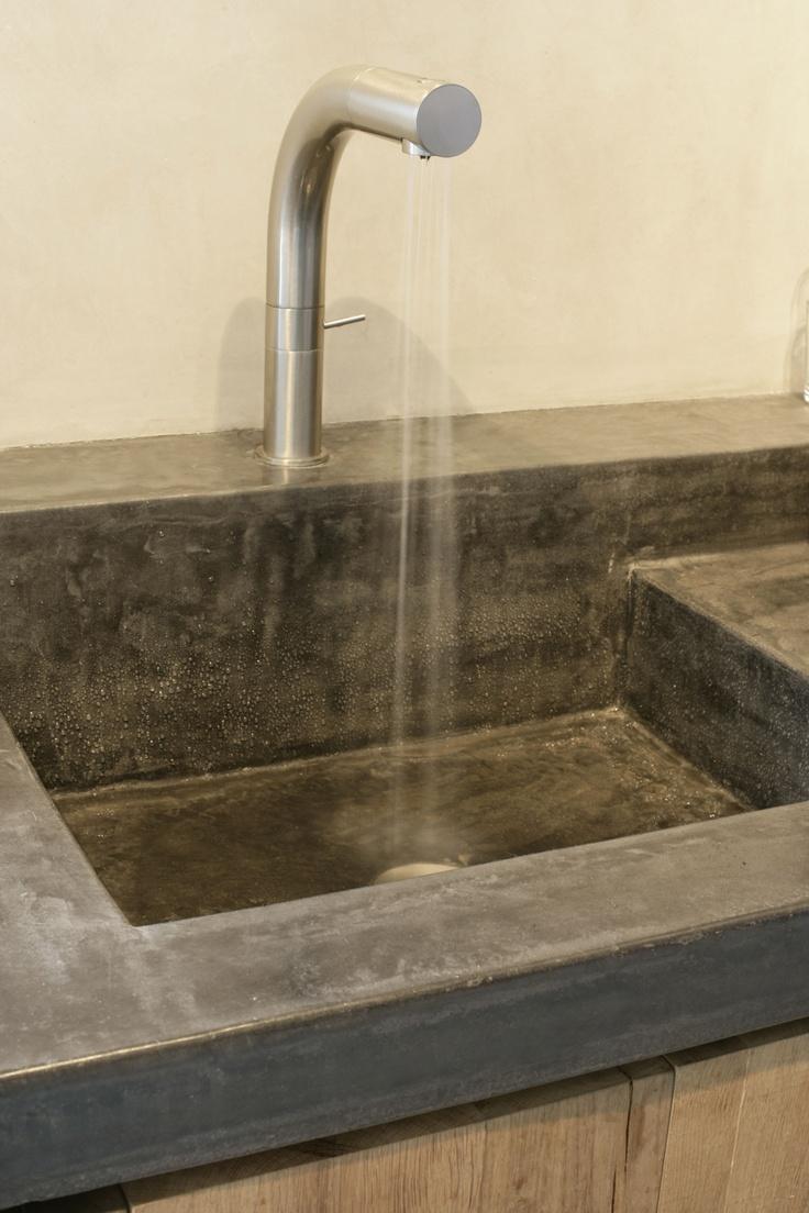 Tadelakt bathroom made by amel kadic -  Vier Tadelakt