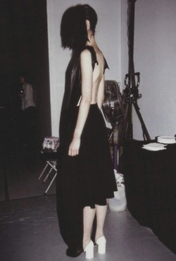 backstage at maison martin margiela spring summer 2004: Summer 2004, Black Swan, Spring Summer, Editorial Photo, Margiela House, Margiela Spring, Backstage Happenings, Maison Martin Margiela, Dressing Room