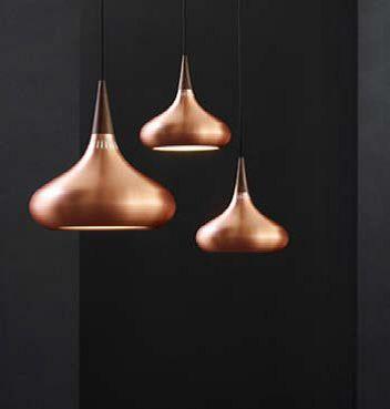Koper en brons zijn de nieuwe it-materialen voor woonaccessoires en verlichting.