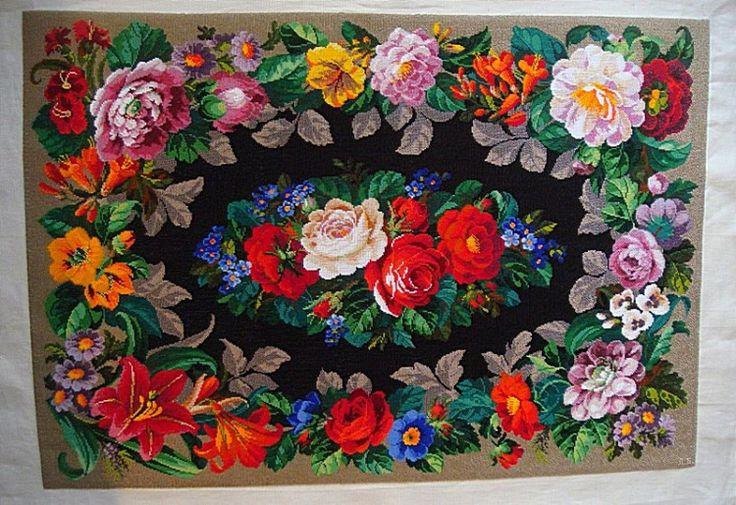 Gallery.ru / Фото #3 - Бисерное панно(ковер).Моя вышивка бисером. - larvas
