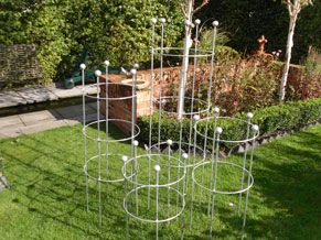 A Range Of Plant Supports Designed To Provide Architectural Structure  Within The Garden Whilst Also Complimenting And Enhancing The Plants  Features;