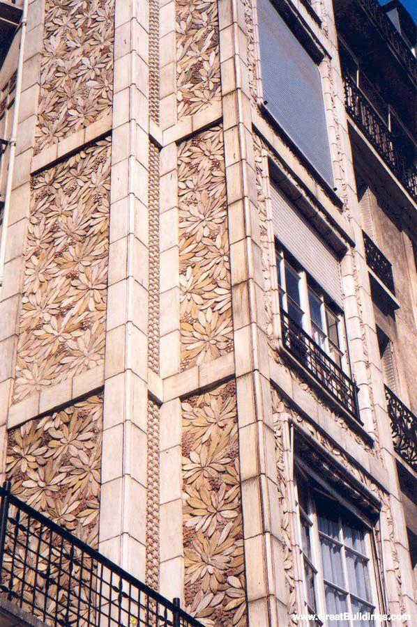 17. Detalle de Rue Franklin Apartments, by Auguste Perret