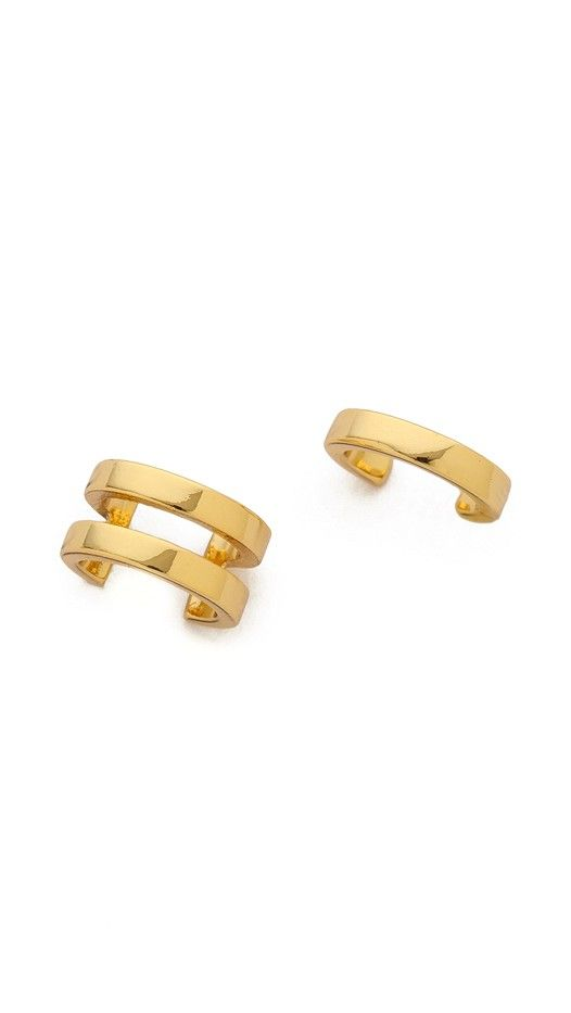 Gorjana Monte Ear Cuff Set in Gold