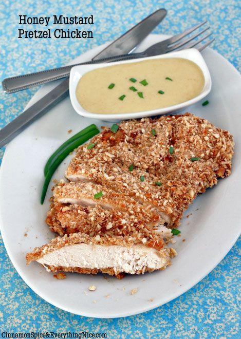 Honey Mustard Pretzel Chicken