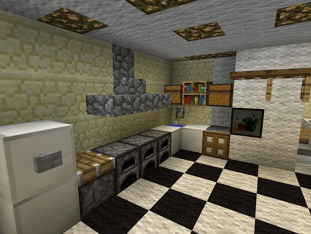 Kitchen Minecraft Designs And Designing A Small Meant For Organizing The Formation Of Luxurious Ornaments In Your Outstanding Home