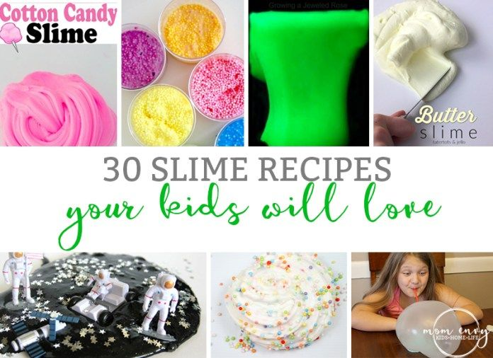how to make slime easy for kids