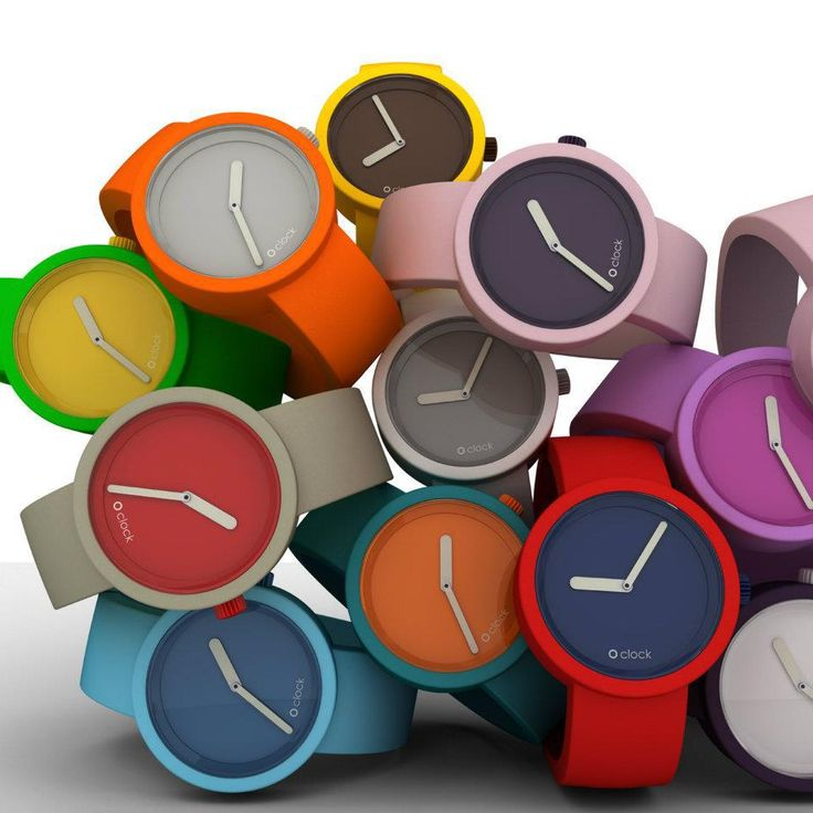 O' Clock watches - love these! @Katie Shahriari for some reason these remind me of you?