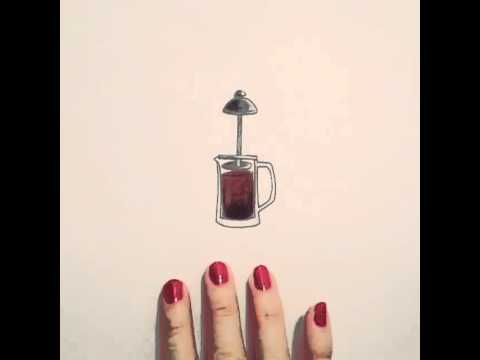 Coffe stop motion by Rachel Ryle