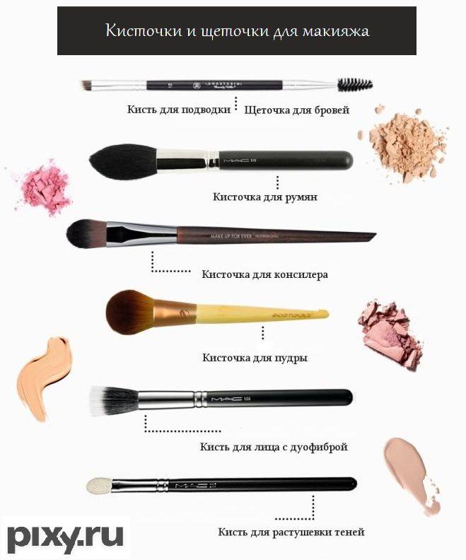 Кисточки и щеточки для макияжа бывают разные. Одни нужны для пудры и румян, другие - для нанесения теней, третьи - для прорисовки бровей. Что еще нужно знать о пушистых аксессурах - в нашей статье.