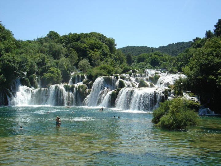 croatie, les chutes de Krka
