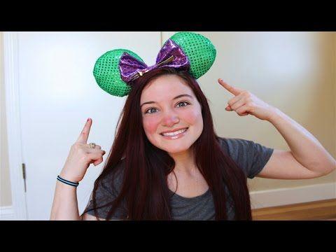 DIY DISNEY MICKEY MOUSE EARS TUTORIAL - YouTube https://www.youtube.com/watch?v=bUatMcFtwb8