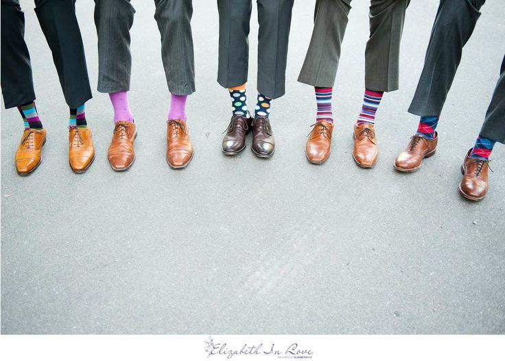 Colourful socks- Elizabeth In Love | Toronto Wedding Photographer - Marion + Dave - Kortright Centre, VaughnWedding