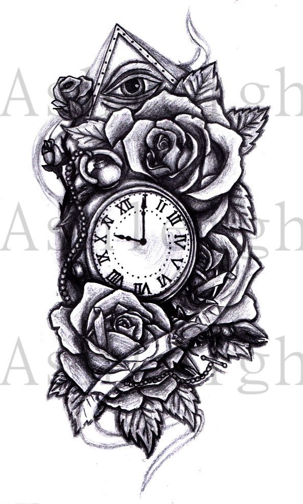 rose watch tattoo pesquisa google tattoos pinterest watches art and pocket watches. Black Bedroom Furniture Sets. Home Design Ideas