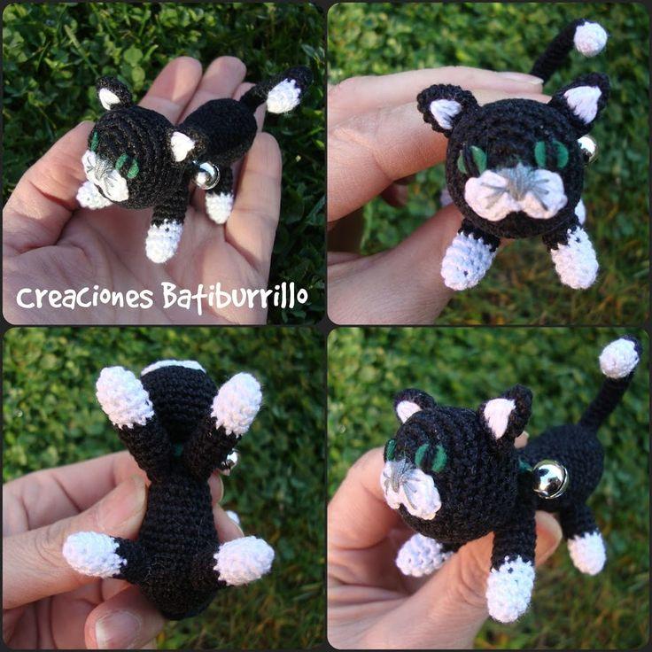 En esta ocasión vamos a sacar nuestras agujas de crochet para elaborar un gracioso gatito amigurumi.