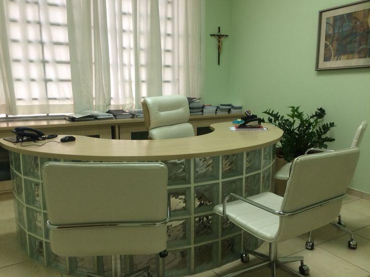 Sala da diretora do Direito do Unisal em Campinas