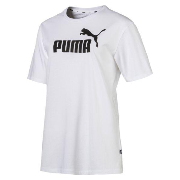 algo Igualmente Pef  Camiseta para mujer Boyfriend Logo | Puma White | PUMA Sale | PUMA España |  Camisetas, Ropa deportiva para hombre, Logo puma
