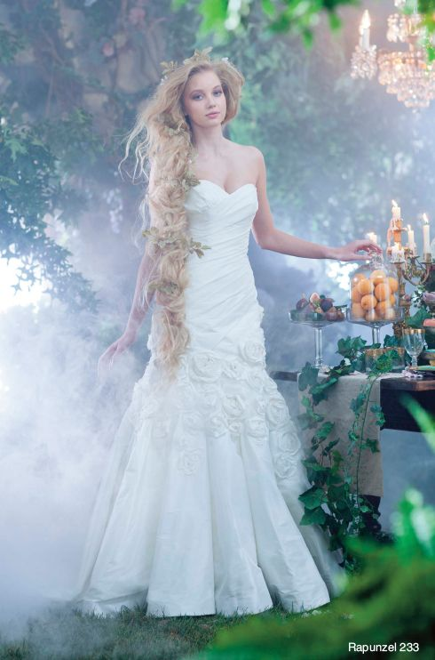 11 best Alfred Angelo\'s 2014 Disney Princess Rapunzel Collection ...