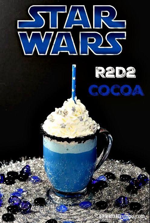 STAR WARS R2D2 White Chocolate Cocoa Recipe