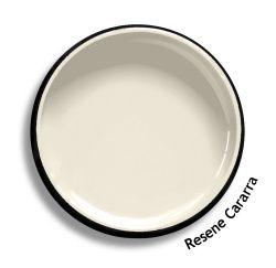 *'Resene Cararra is an off-white cream, use in place of the popular Resene Pearl Lusta or pure white.'
