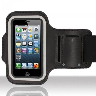 Apple Ipod Touch 4th Gen 32gb Sports Premium Neoprene Armband Gym Key Holder