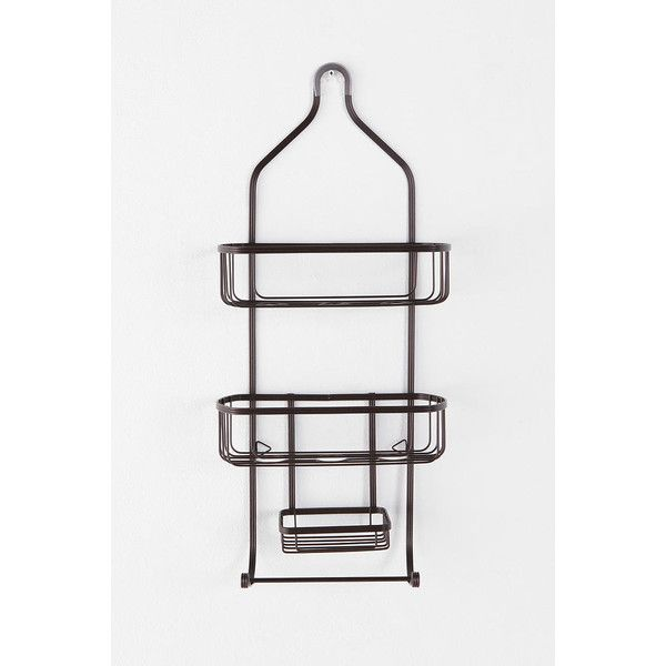 Industrial Wire Shower Caddy ($24) found on Polyvore