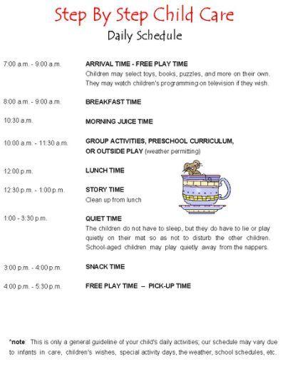 25 ide terbaik daily schedule template di pinterest blog 11 daily schedule templates pronofoot35fo Choice Image