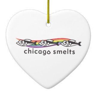 Chicago Christmas Ornament Chicago Smelts