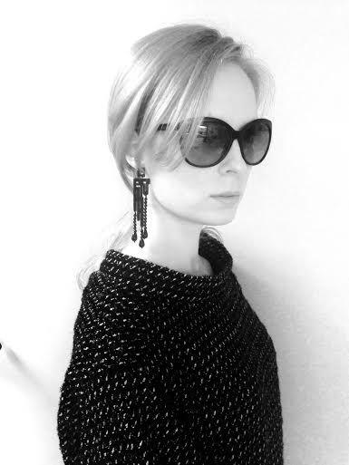 Labirinto Deco earrings with bon ton chic...Klara!