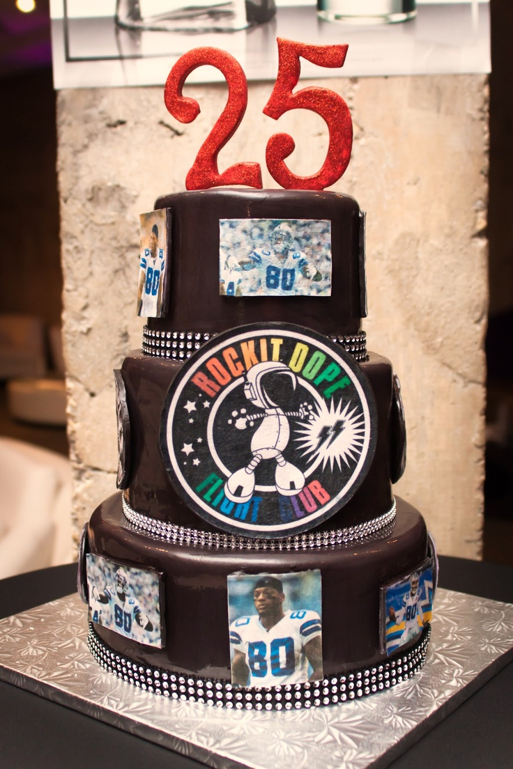 Dallas cowboys birthday cake ideas and designs - Dallas Cowboy Martellus Bennett S 25th Birthday Cake