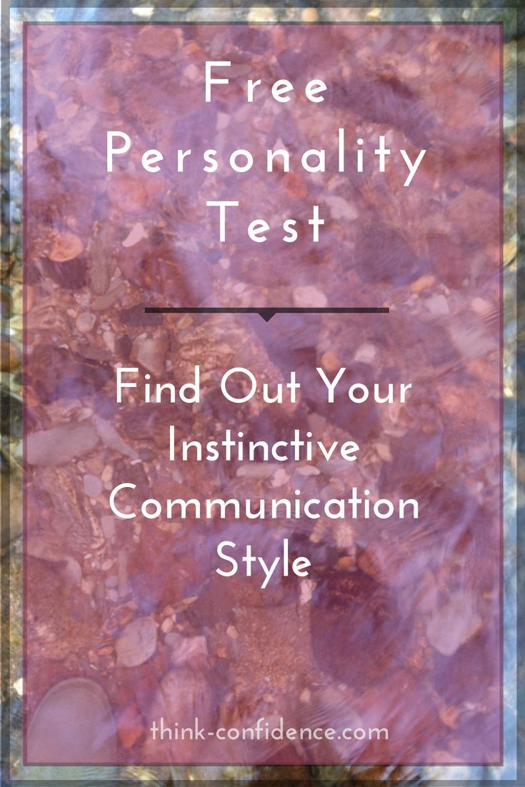 Revealing Free test to reveal your natural communication style #personality #tests #selfconfidence