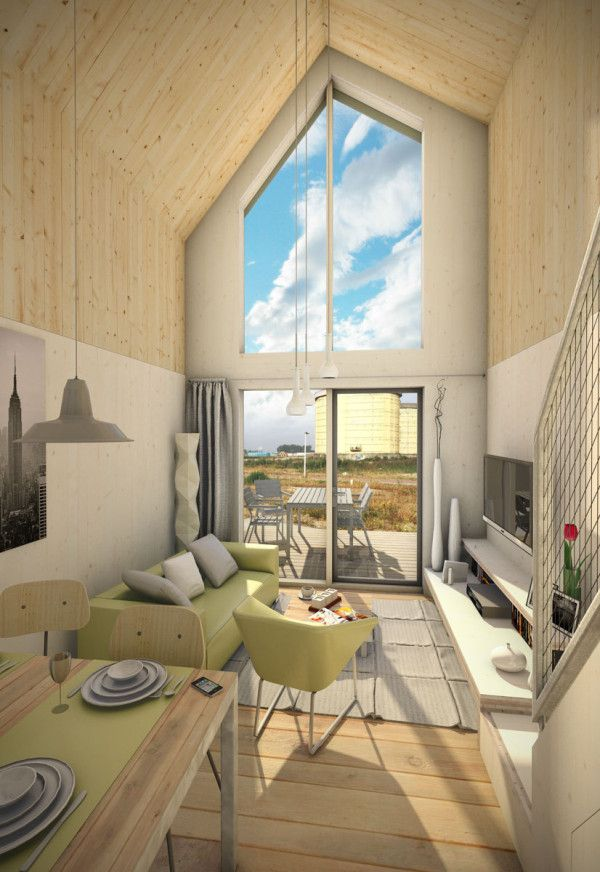 An affordable rental prefab that's perfect for young professionals and single households.