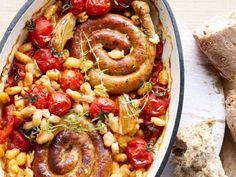 Recept: ovenschotel met witte bonen en worst