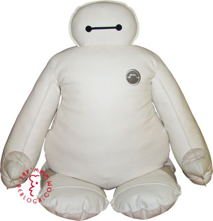 Exclusive big soft robot by Art-berloga International handmade