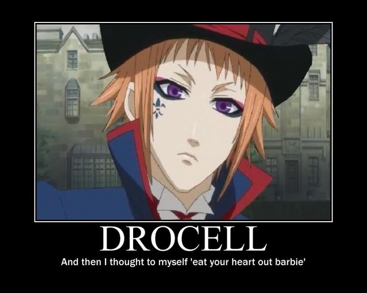 Drocell Black Butler Funny Anime And Game Motivationals