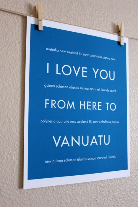 I want to go to Vanuatu...